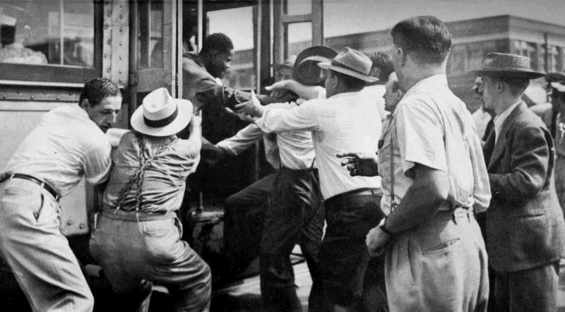 St Louis History In Black And White: Detroit Race Riot 1943