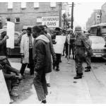 The Cambridge areas past history of lynching served to enforce a fear that kept blacks in their place. By the 1960s, however, the dam of oppression began to break apart.