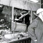 The East Coast riots of 1964 paled in comparison to later riots. Garbage cans through windows, Molotov cocktails and fisticuffs.