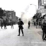 Guardsmen have successfully cleared 12th Street of rioters. The riot quickly drifted over to neighboring Linwood Ave, Dexter and Grand River where less resistance was present.