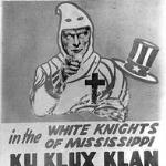 With the end of Reconstruction 1877 and the pull out of federal troops which had been enforcing the laws, the KKK would emerge creating more havoc than Sherman's March to the Sea and casting their evil shadow over the entire South.