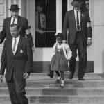 U.S. Supreme Court decision on Brown vs. Board of Education makes school segregation illegal. Federal government reticent to enforce this law so courageious blacks chose to force the governments hand, causing upheaval throughout the South.